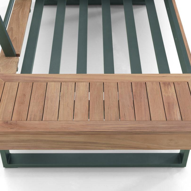 Bestellen Sie jetzt das hochwertige Lounge-Set Alu-Teak für gemütliche Stunden im Freien.
