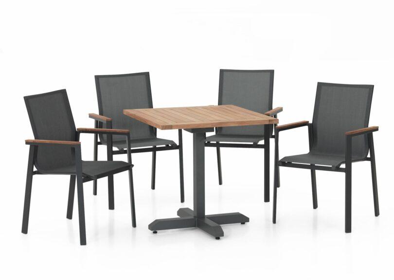 Tisch Schwabing und Sessel Palma