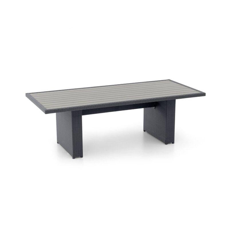 Tisch Monaco Kunststoffplatte schwarz